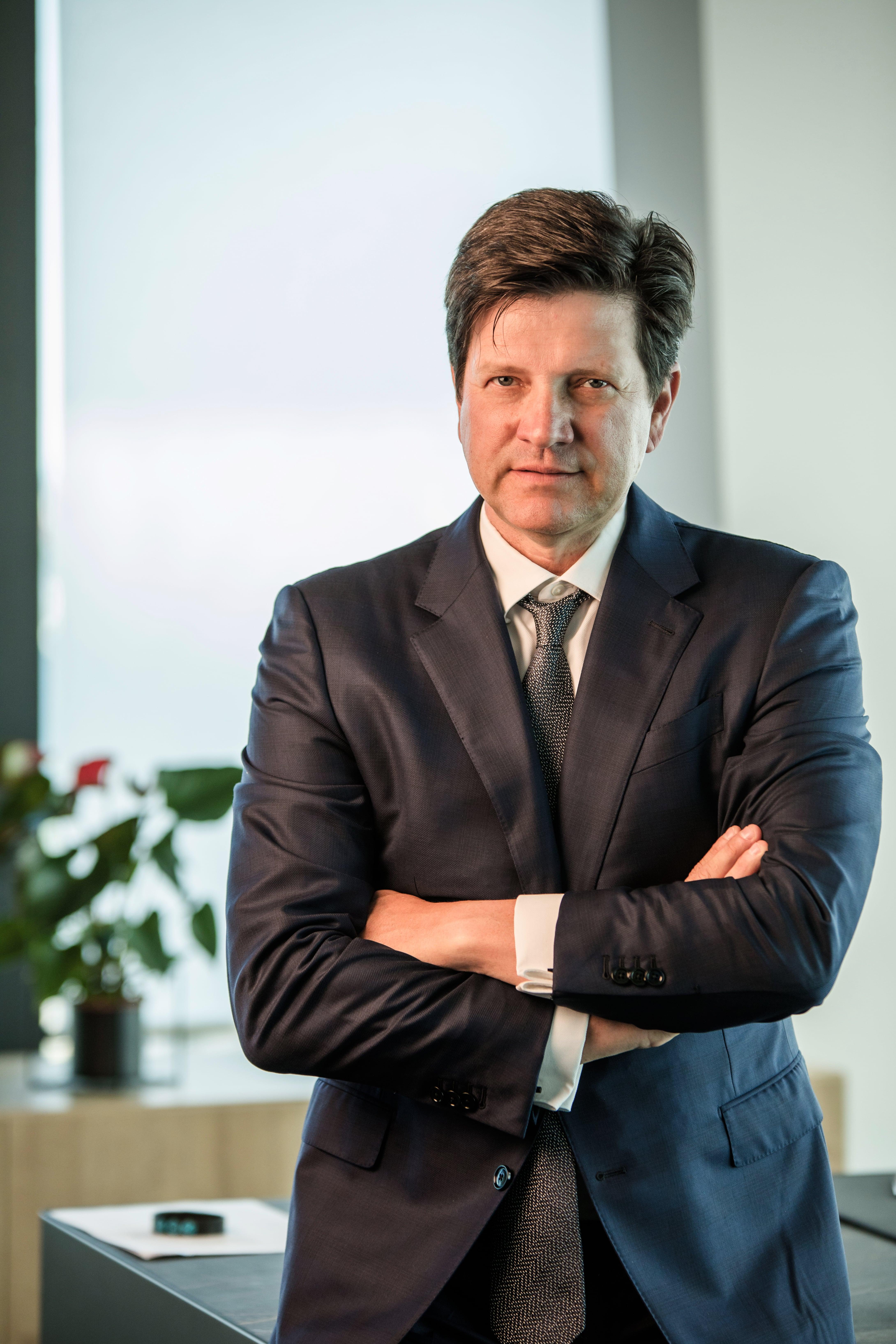 Kis-Szölgyémi Ferenc, a B+N Referencia Zrt. vezérigazgatója