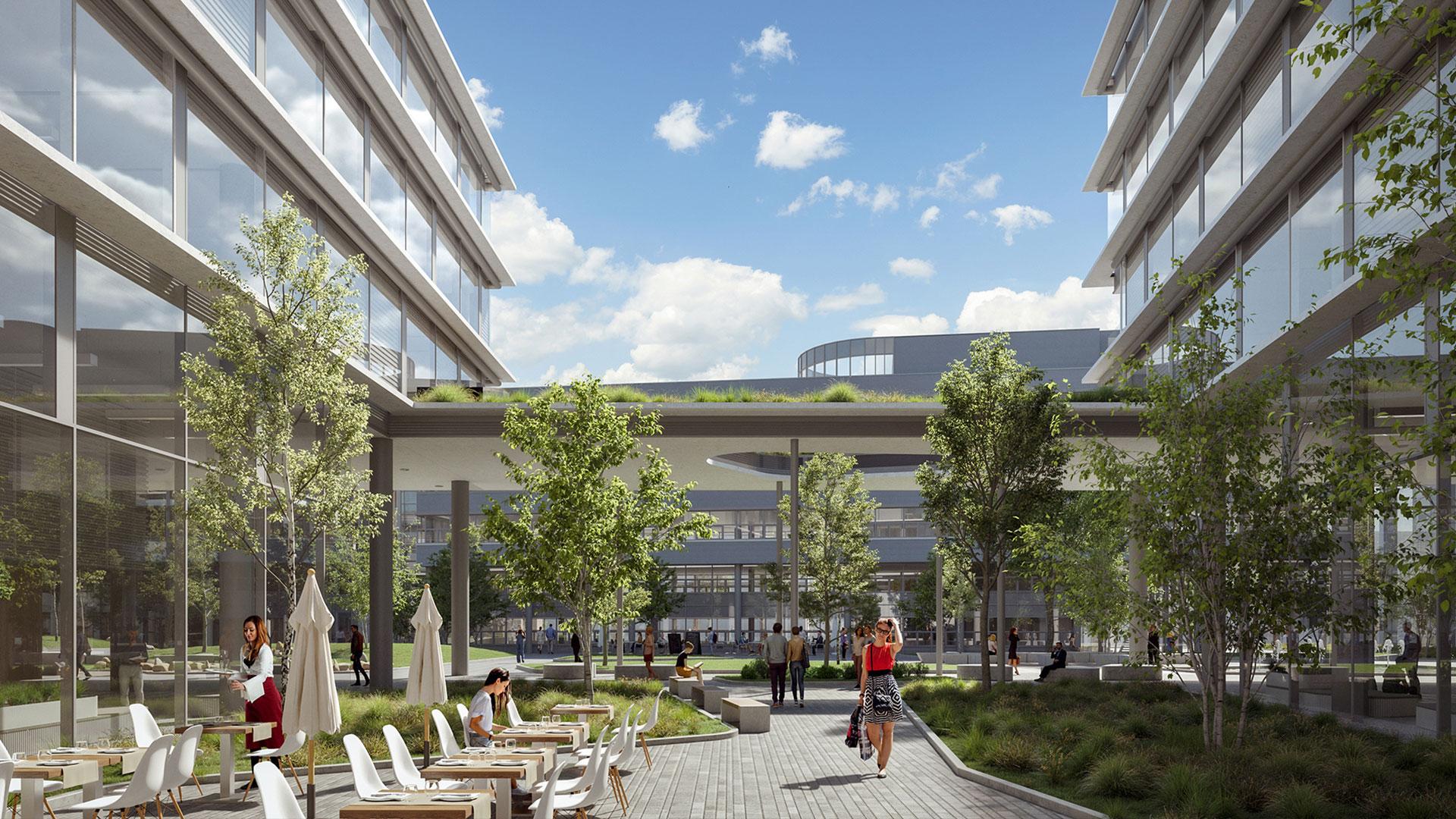 Az fmbusiness.hu facility management hírportál beszámolója az új, 32 000 négyzetméteres budapesti irodáról
